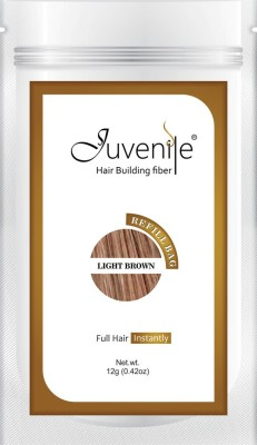 Juvenile Hair Building Fiber Refill Bag Pack Of Light Brown 12gm