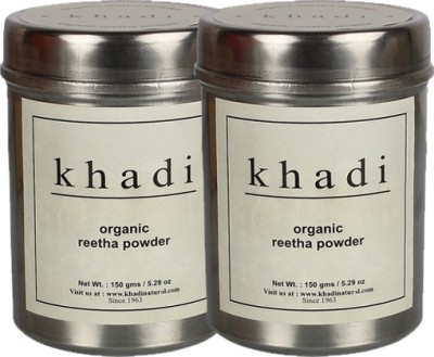 khadi Natural Organic Reetha Powder- Twin Pack