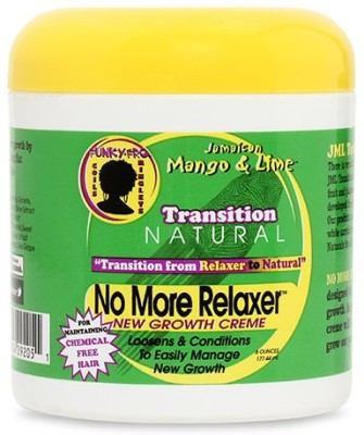 Jamaican Mango And Lime Transition Natural No More Relaxer Daily Creme