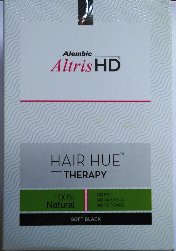 Alembic Altris Hd - Hair Hue Therapy Soft Black(150 g)