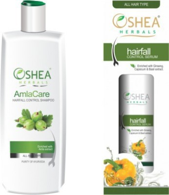 Oshea Herbals Hair Regrowth Shampoo and Serum