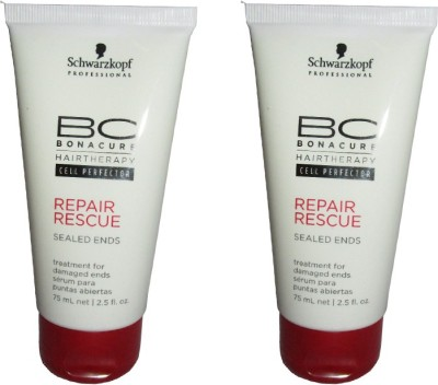 Schwarzkopf Professional Repair Rescue Sealed Ends Pack of 2