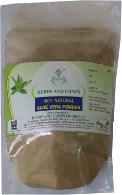 Herbs And Crops Natural Aloe Vera Powder