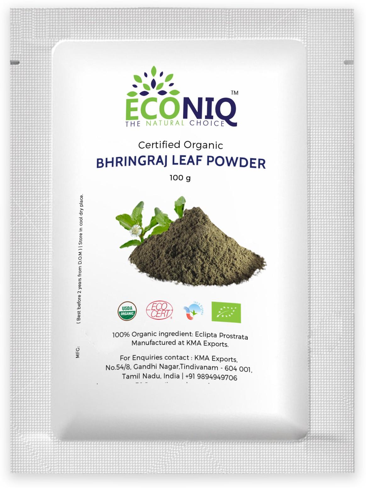 Econiq Bhringraj leaf�powder for hair(100 g)