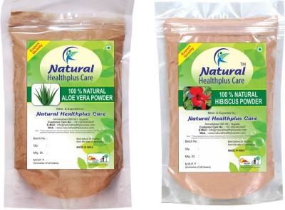 Naturalhealthpluscare AloeVera Hibiscus Powder Combo