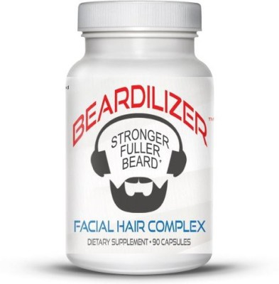 Discount Source LLC Beardilizer Facial Hair and Beard Growth Complex for Men - 90 Capsules Powerful Nutrients Blend