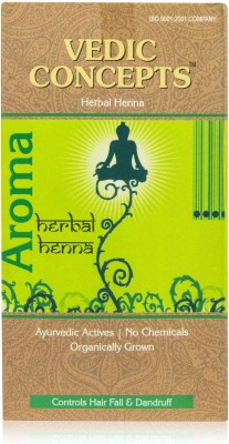 Vedic Concepts Herbal Henna Powder