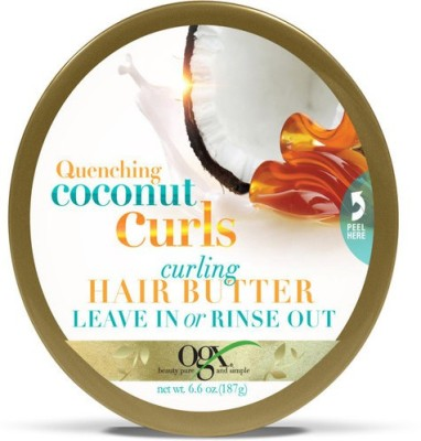 Organix Quenching Coconut Curls Curling Hair Butter Leave In Or Rinse Out