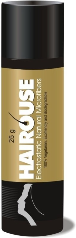 Hairouse Natural Hair Building Electrostatic Microfibers - 100% Black(25 gms)