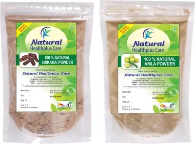 Natural Healthplus Care Shikakai Amla Powder Combo