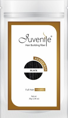 Juvenile Hair Building Fiber Refill Bag Black