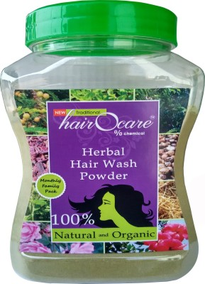 Hairocare Herbal Hair Wash Powder - Monthly Family Pack 350g