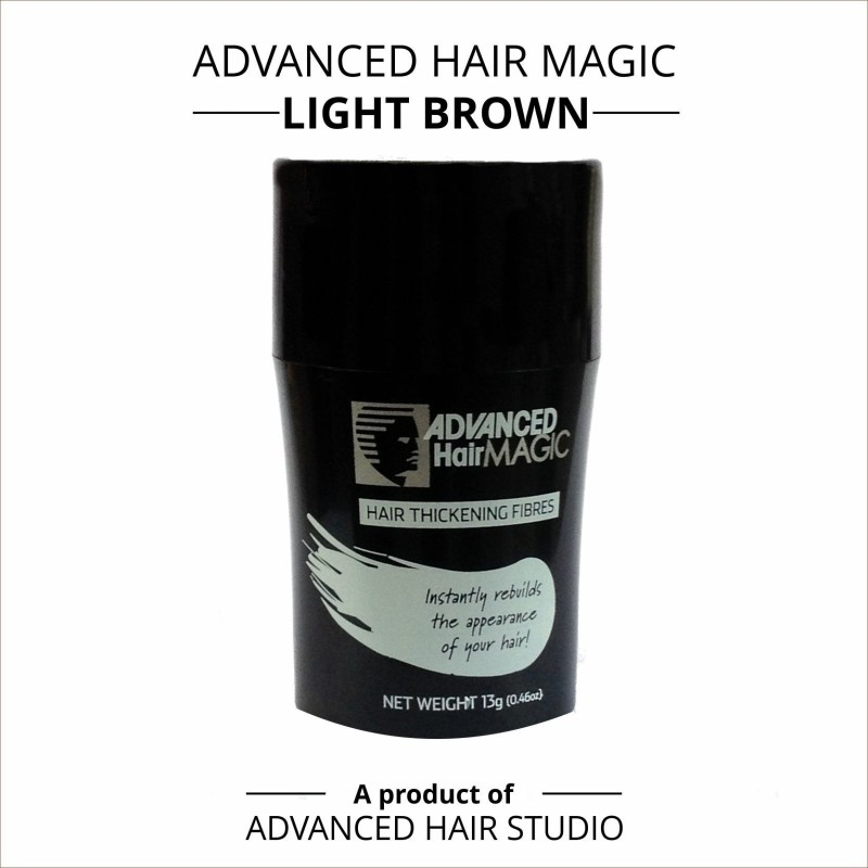 Advanced Hair Magic - Light Brown(26 Gms)