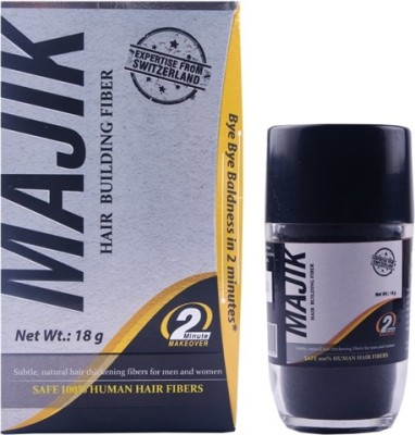 Majik 100% Human Hair Building Fibers Medium Brown