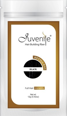 Juvenile Hair Building Fiber Refill Bag Pack Of Black 12gm