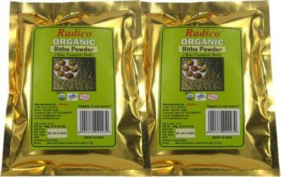 Radico Organic Ritha Powder (Twin Pack)