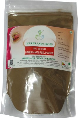 Herbs And Crops Natural Pomegrante Peel Powder