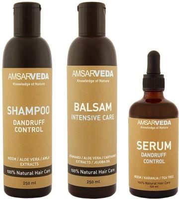Amsarveda 100% Natural Dandruff Control Special Treatment