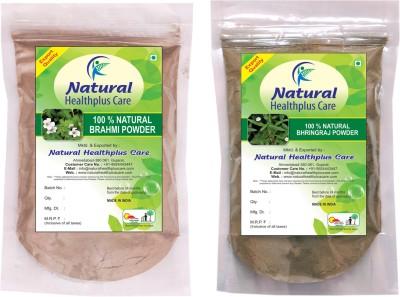 Natural Healthplus Care Brahmi Bhringraj Powder Combo