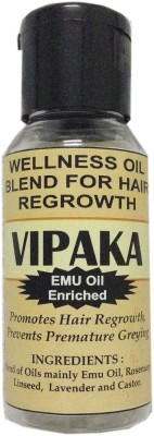 Primefit Solutions Vipaka Emu Nourished Essential Oil Blend For Hair Growth