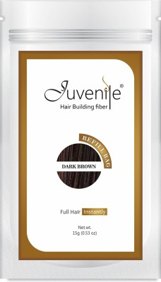Juvenile Juvenile Hair Building Fiber Refill Bag Dark Brown