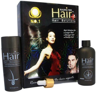 WDS Amazing No 1 Hair Builder, Building Fibers Plus,