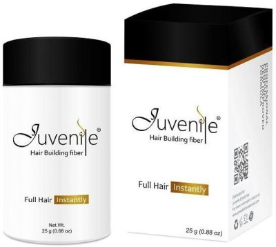 Juvenile Hair Building Fiber Black