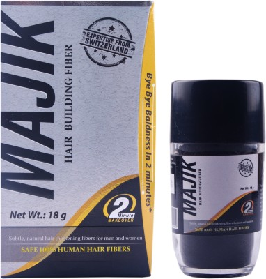 Majik 100% Human Hair Building Fiber Medium Brown