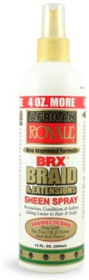 African Royale Brx Braid And Extensions Sheen Spray