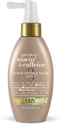 OGX Fight Fallout+ Niacin3 & Caffeine Root Stimulator Spray