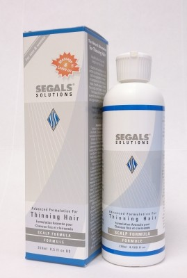 Segals Solutions 4-Step HairLoss Control Plus Thinning Hair Program