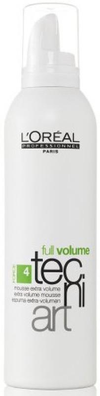 L'Oreal Paris Full Volume Tecni Art force 4 Extra Volume for Unisex Hair Volumizer Gel Mousse(250 ml)