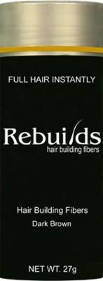 Rebuilds Hair Building Fiber Dark Brown 0009 Soft Hair Volumizer Powder(27 g)
