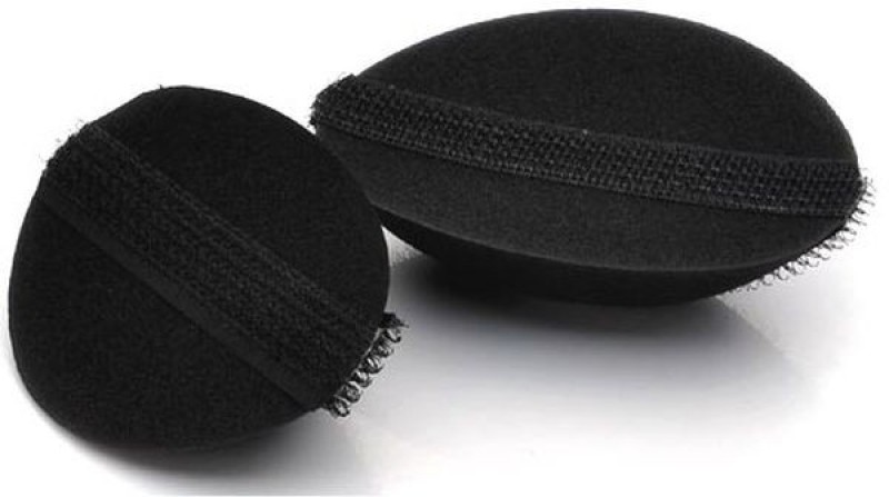 Nirus Hair Base Velcro Bumpits Hair Volumizer Velcro Bumpits(2 pcs)