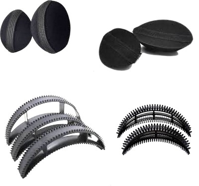 99DailyDeals Hair Style Bumpits (Pack of 9) R200 hold Hair Volumizer Volumizer