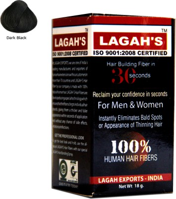 Lagah,S Natural Black18 Medium Hair Volumizer Powder