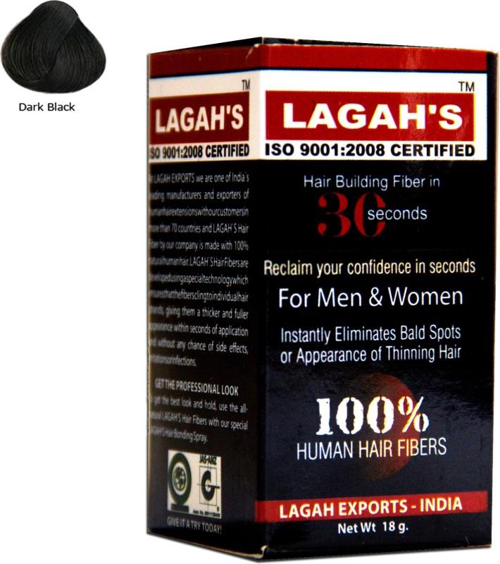 Lagah's Natural Black18 Medium Hair Volumizer Powder(18 g)