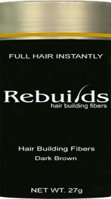 Rebuilds Dark Brown 0008 Soft Hair Volumizer Powder