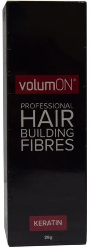 VolumOn Professional Hair Building Fibres - Black M-976 Extreme Hair Volumizer Keratin(28 g)