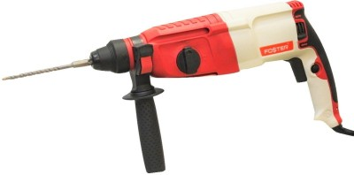 Foster FHD 2-26 DRE Rotary Hammer Drill With 3 SDS Bits, 2 Chisel & 1 Depth Gauge Combo