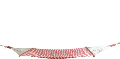 Royallyrelax Red & White Cotton Hammock
