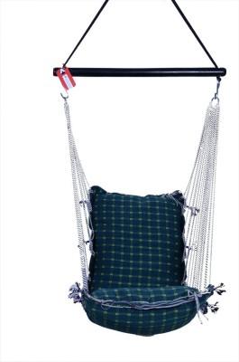 Kkriya Home Decor Cotton Swing(Multicolor)