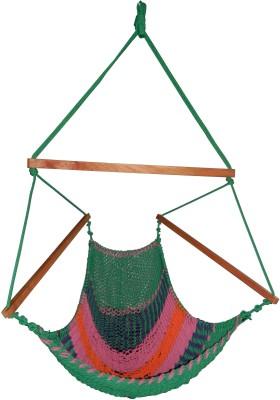 Royallyrelax Handmade Rope Cotton Hammock(Multicolor)