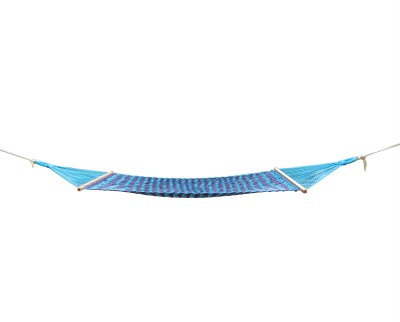 Royallyrelax Blue & Black Sleeping Cotton Hammock