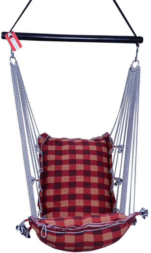 View Kkriya Home Decor Cotton Swing(Multicolor) Furniture (Kkriya Home Decor)