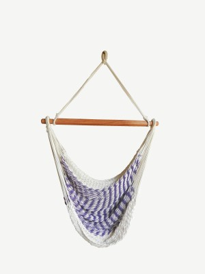 Royallyrelax Mexwing Cotton Swing(White, Purple)