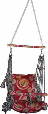 Kaushalendra bay Swing Cotton, Nylon Hammock(Red, White)