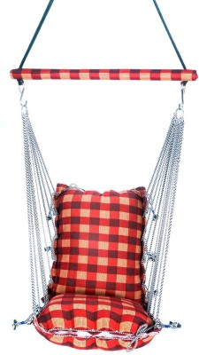 Kkriya Maarketing Regular swing Cotton Hammock(Red)