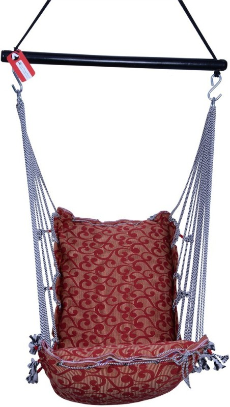 Kkriya Home Decor Cotton Swing(Multicolor)