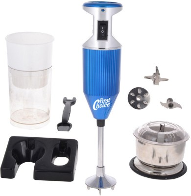 First Choice FCBlue with Attachment 200 W Hand Blender